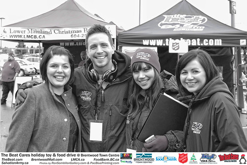 The BEAT CARES holiday food and toy drive at Brentwood Town Centre photos by Ron Sombilon Gallery (772) | by SOMBILON STUDIOS - www.SOMBILON.com