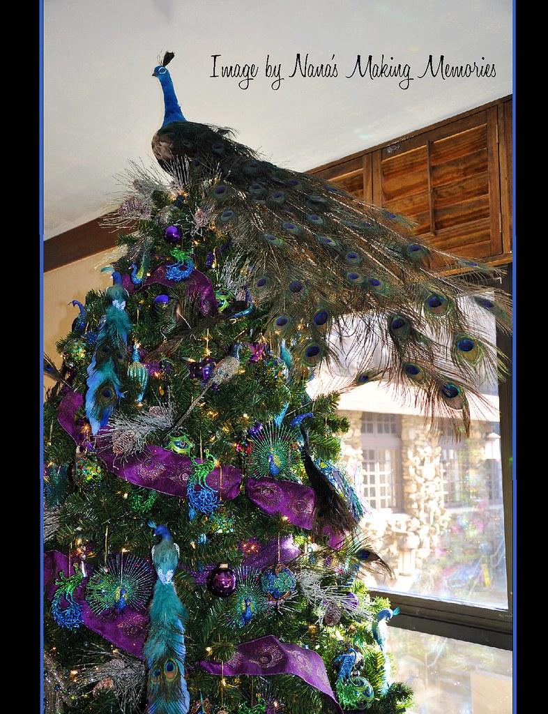 buy popular 4626e 32a94 Peacock Christmas Tree - Grove Park Inn | One of the many un ...