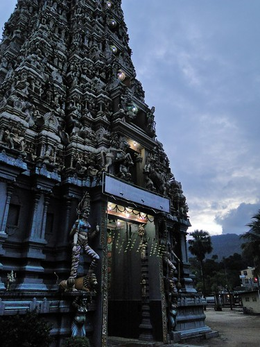 sunset temple sri lanka shiva hinduism kandy matale