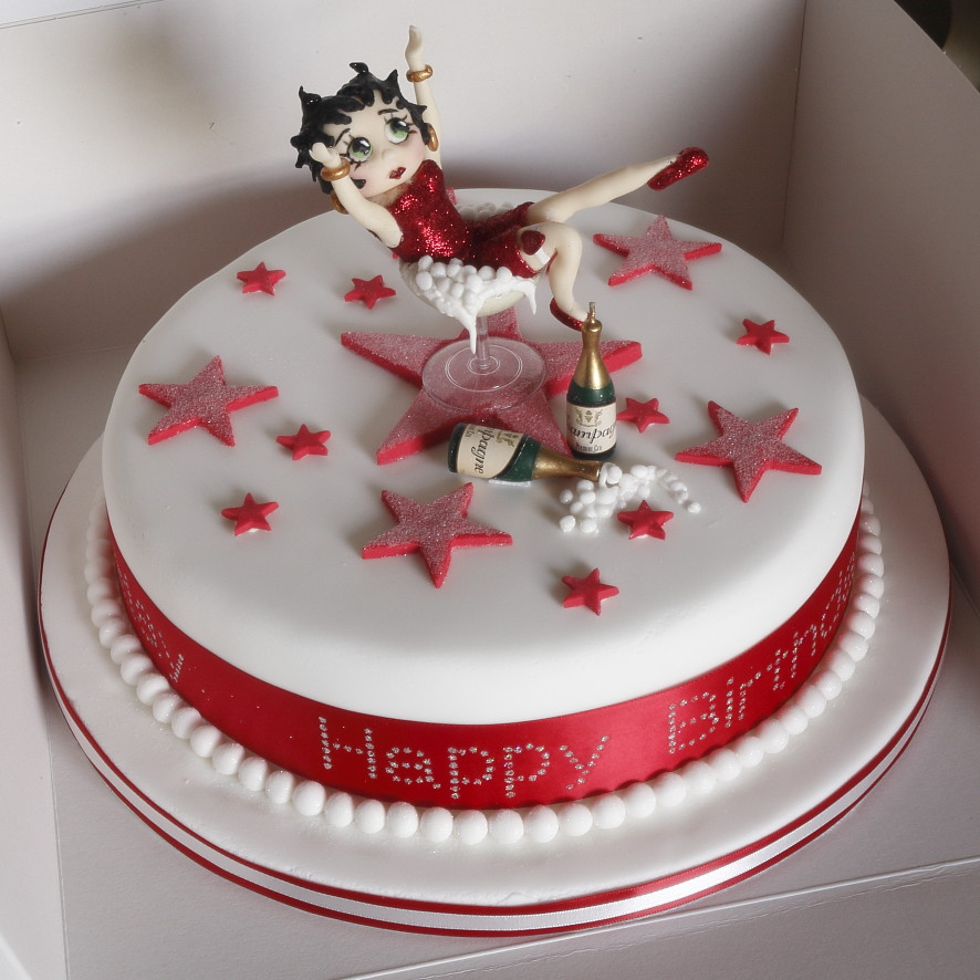 Betty Boop Birthday Cake | www.amandascakeart.co.uk Also on … | Flickr