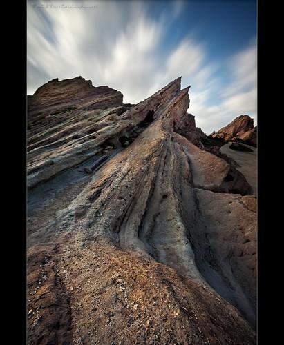 california longexposure clouds landscape rocks desert rockformation vasquez vasquezrocks vasquezrocksnaturalareapark mdx400