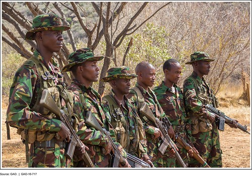 Figure 6: Members of an Antipoaching Patrol Unit in Northern Kenya | by U.S. GAO