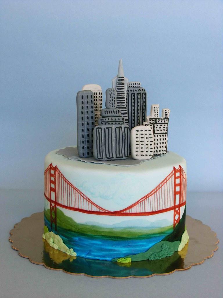 Prime San Francisco Cake Happy Bday Vlado Lyuba Zlatkova Flickr Personalised Birthday Cards Paralily Jamesorg