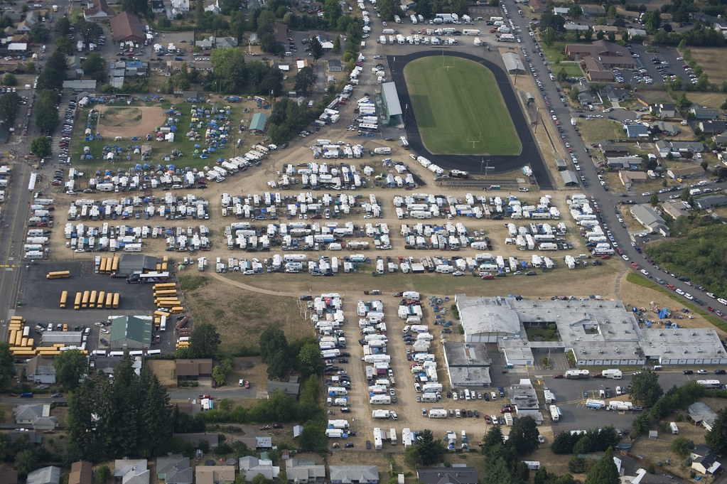 Aerial RV4 RV8 TentA | oregon.jamboree | Flickr