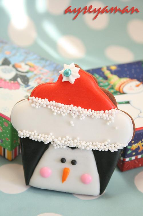 Christmas Penguin Cookie Christmas Cupcake Cookies Flickr