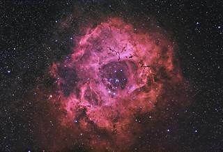 Rosette nebula reprocessed | by write_adam