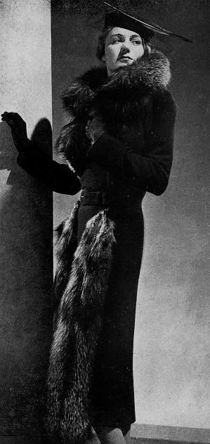 Manteau d'après-midi 1936