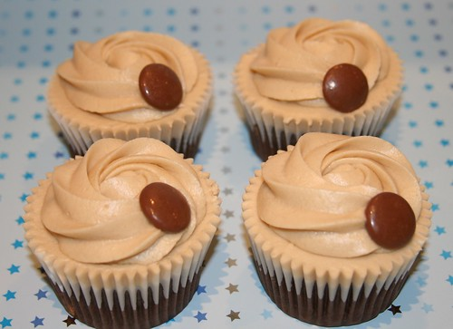 Chocolate cupcake with Bailey's buttercream