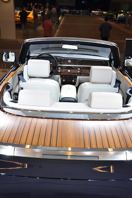 Rolls interior