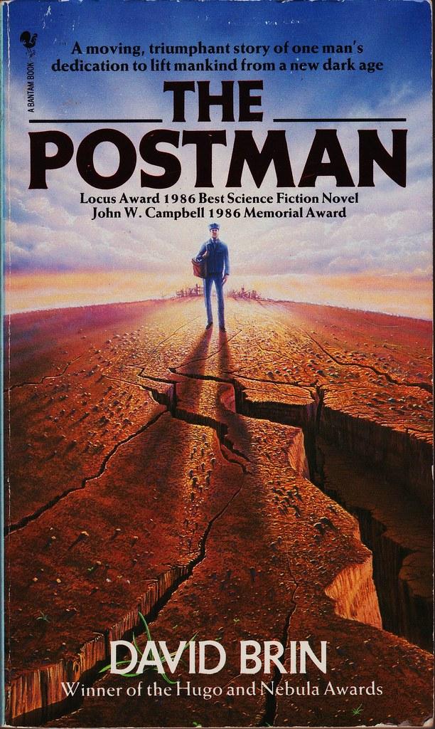 Bantam 0553171933 | David Brin: The postman  Bantam Books 19… | Boy