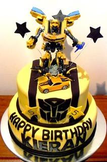 Bumblebee Transformers Birthdaycake Bumble Bee