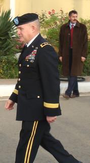 USARAF Commander visits Algeria December 2010