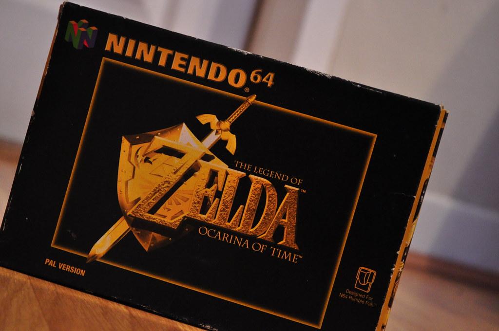The legend of Zelda Ocarina of time - N64   Matthew King   Flickr