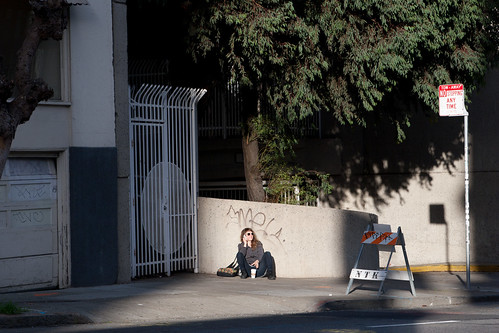 Woman on a street | by moppet65535