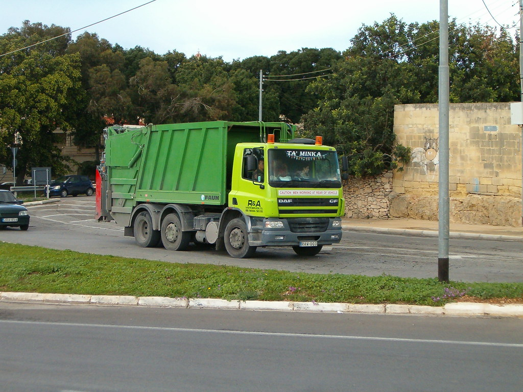 DAF CF trash truck | engine lover 2 | Flickr