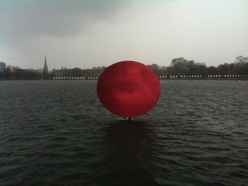 Anish Kapoor in Kensington Gardens   by escdotdot