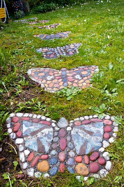 Walker Rock Garden path