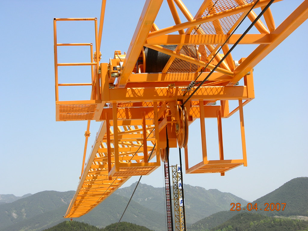 KNF 355i 16 Ton Tower Crane Trolley 1 | KNF Heavy Industry T