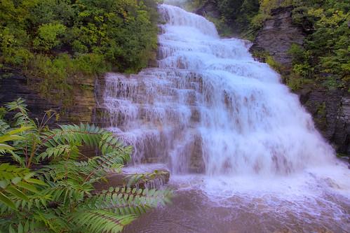 usa ny newyork waterfalls fingerlakes senecalake watkinsglen hectorfalls