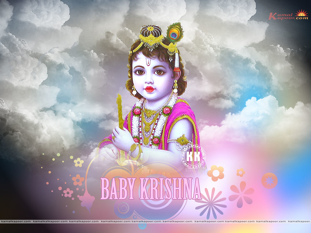 Baby Krishna Wallpaper Baby Krishna Ji Wallpapers Free Do