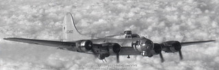 B-17 43-38402 on mission to Nuremberg Germany 21 Feb 1945 | by John Funk from Golden Colorado