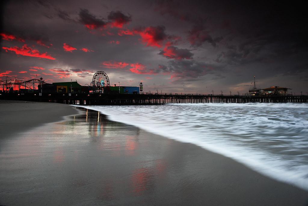 Santa Monica Pier at Sunrise - Lost Transmissions | I've ...