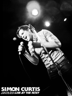 Simon Curtis at the Roxy