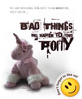 Bad things...