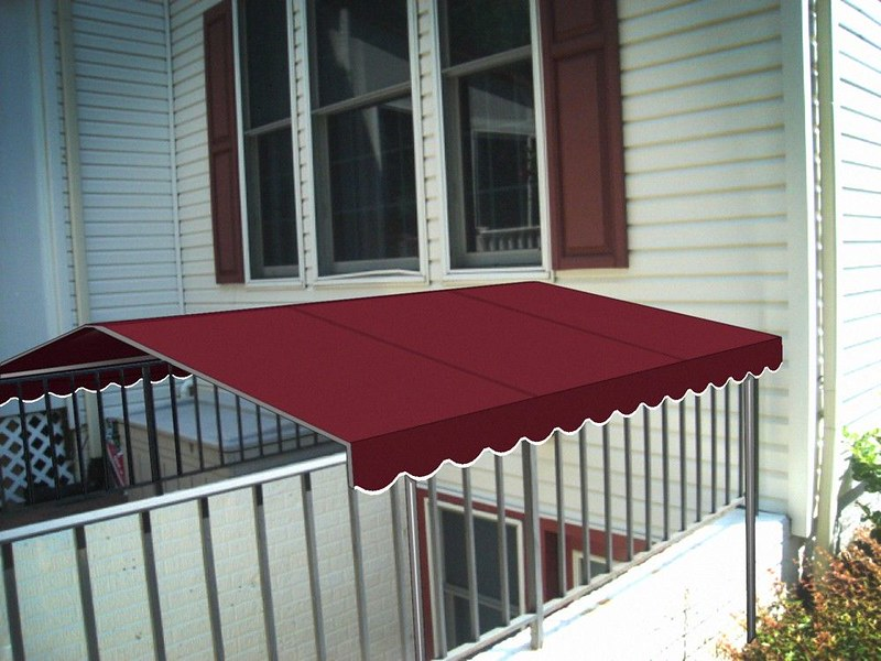 Stairwell Awning Renering