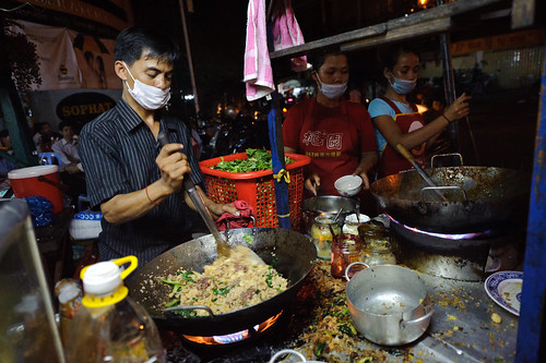 Cambodian Fried Noodle Stall | by goingslowly