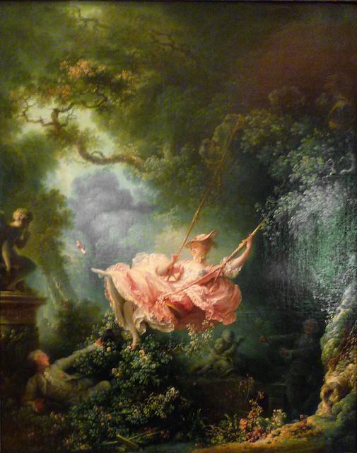Jean-Honoré Fragonard, The Swing