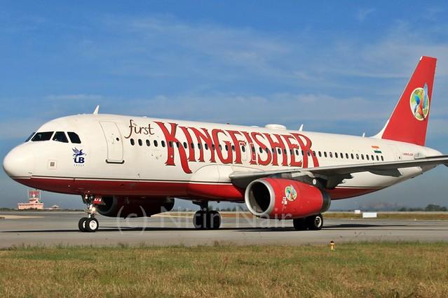 Kingfisher A320 VT-KFM