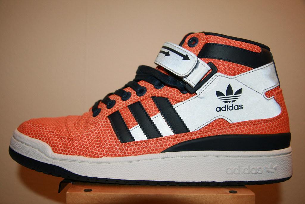 big sale 08773 35257 ... Adidas Forum Mid Orange Indigo   by confidentjohn
