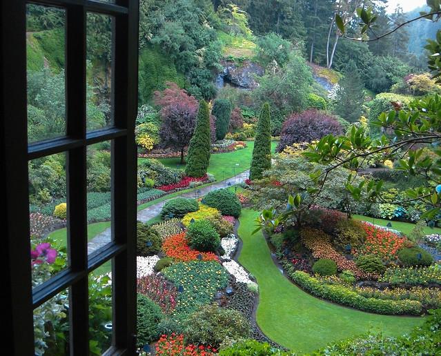Sunken Garden (through the window)