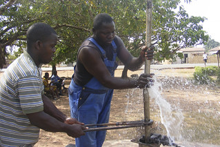 Well construction and support for farmers in the rural areas of Tafi-Todzi, Ghana