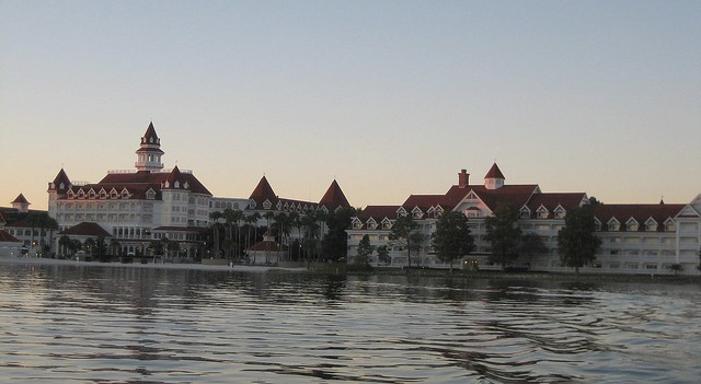 The lovely Grand Floridian, at Walt Disney World