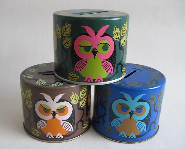 Owl Moneyboxes