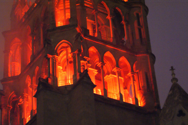 Lausanne Cathedral, Maybe it really is on fire, Switzerland 01341