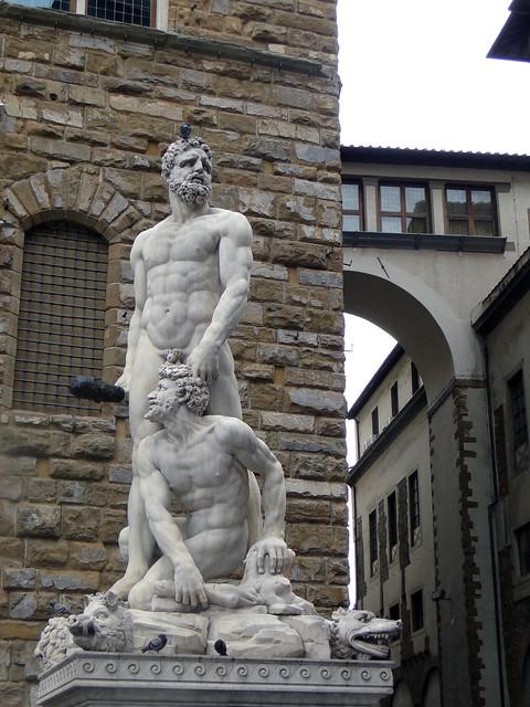 Ercole e Caco a Firenze (Toscana)