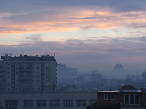 sunrise serbia belgrade