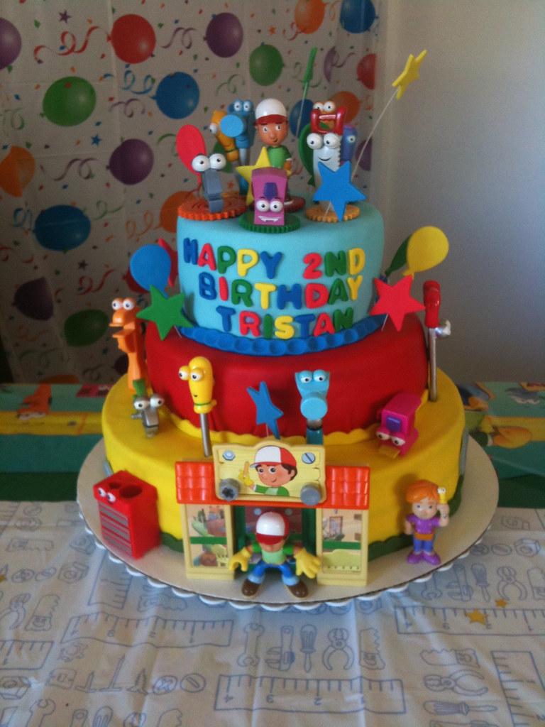 Groovy Handy Manny Cake Romyscouturecakes Flickr Birthday Cards Printable Inklcafe Filternl