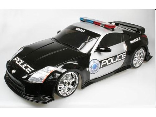 Nikko Nissan 350Z Police (3) | House of Joy with Gadgets Toys & More