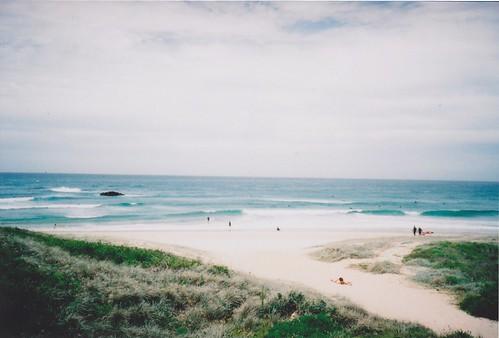 sea summer film beach 35mm lomo lca sand surf wave