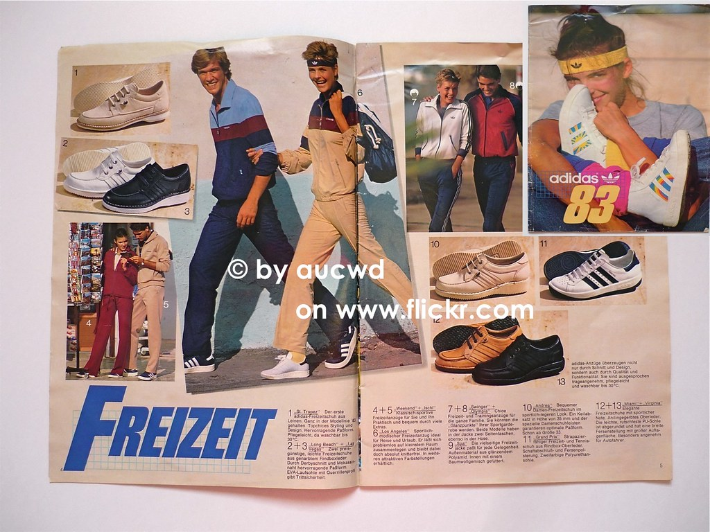 VINTAGE ADIDAS SPORT SHOE CLOTHING CATALOGUE OF THE YEAR