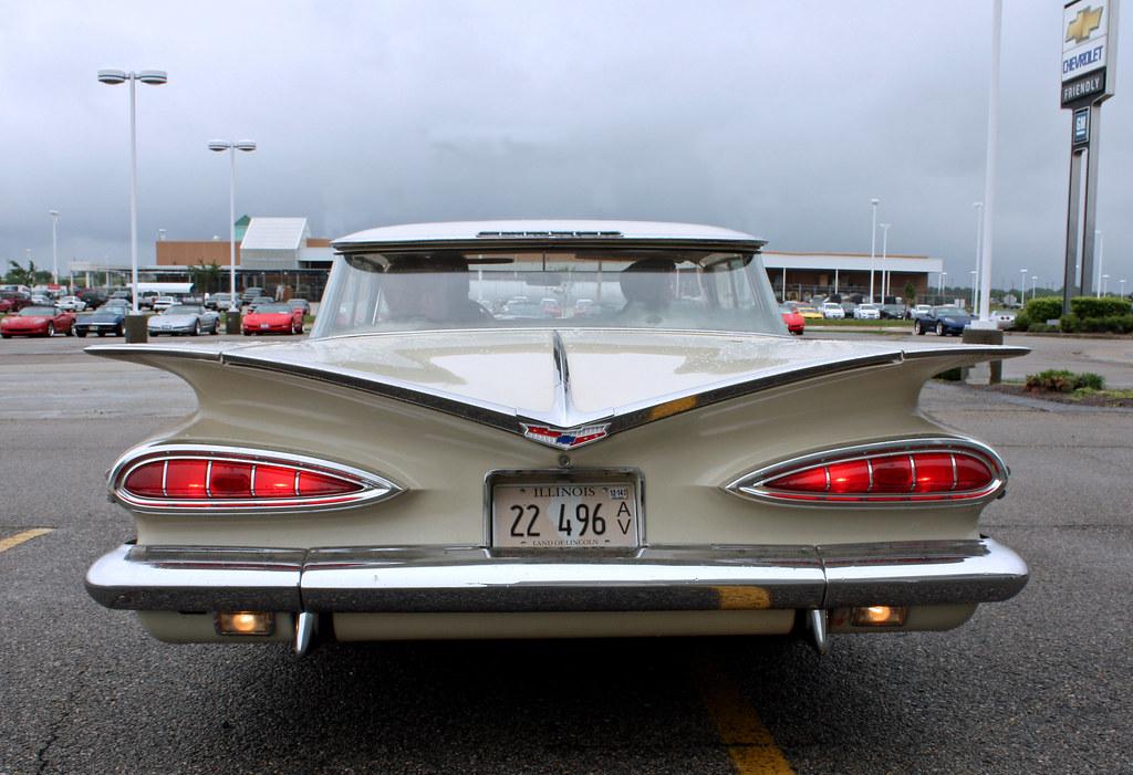 1959 Chevrolet Impala 4 Door Hardtop Sport Sedan 6 Of 6 Flickr