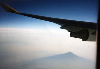 Mt. Fuji from Asiana 201