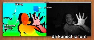 Kinect on Mac   by artgoeshere