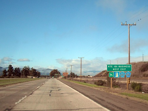 northbound US-101 in King City