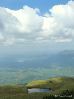View from 1800m Chembra Peak, Wayanad | by Aswin Anand