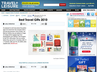 Travel and Leisure Gift Guide | by Bird in the Hand